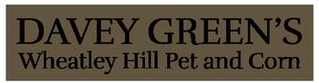 Davey Green's Wheatley Hill Pet and Corn logo